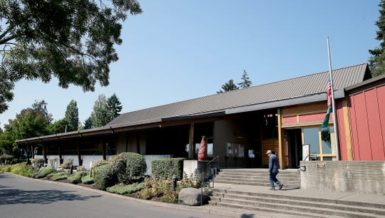 Bainbridge Island City Hall.