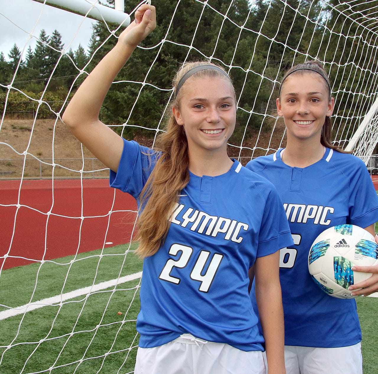 Olympic soccer's Troy sisters are two of a kind