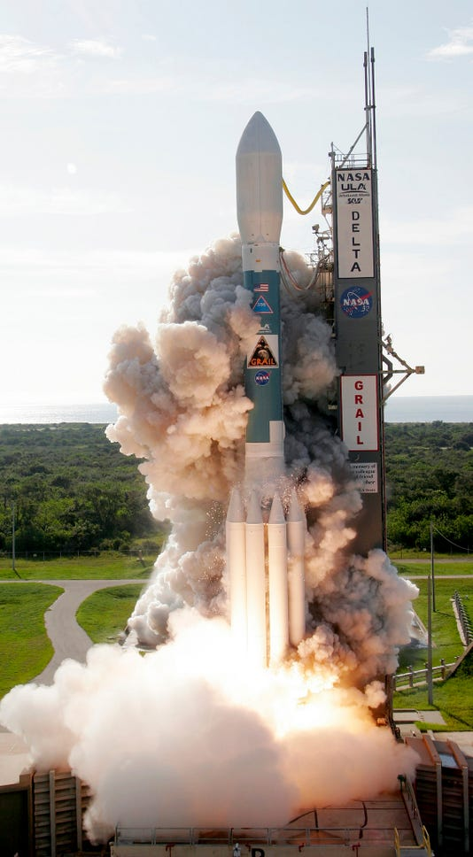 Deltaii Grail Liftoff