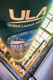 The United Launch Alliance Delta II rocket that will launch NASA's Ice, Cloud and land Elevation Satellite-2 (ICESat-2) is vertical on the launch pad at Space Launch Complex-2 at Vandenberg Air Force Base in California. The mission, slated to launch at 8:46 a.m. EDT Sept. 15, 2018, will be the final one for the storied Delta II rocket.