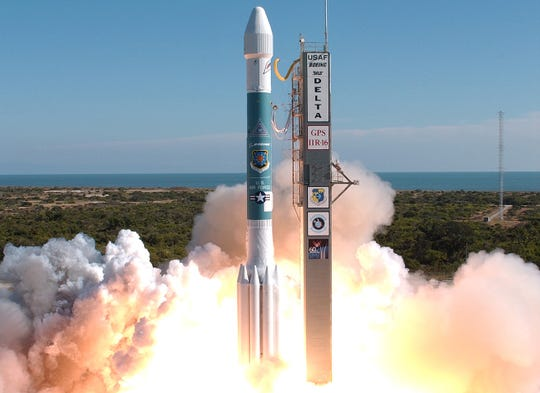 On Nov. 17, 2006, a Delta II booster successfully launched from Cape Canaveral Air Force Station carrying the NAVSTAR Global Positioning System satellite IIR-16. The satellite was the third of the modernized GPS satellites incorporating greater accuracy, increased resistance to interference and enhanced performance for users.