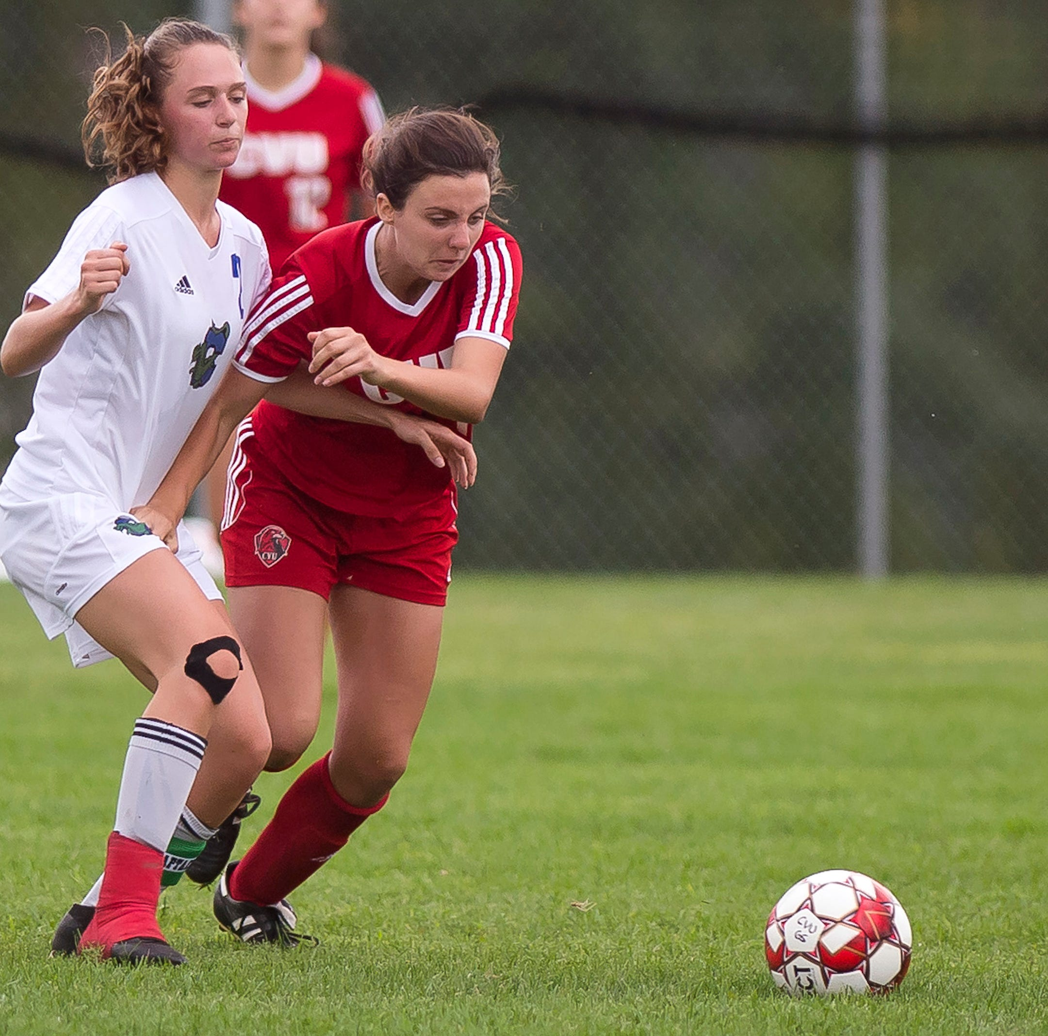 CVU girls soccer bests St. Johnsbury with 4-goal outburst