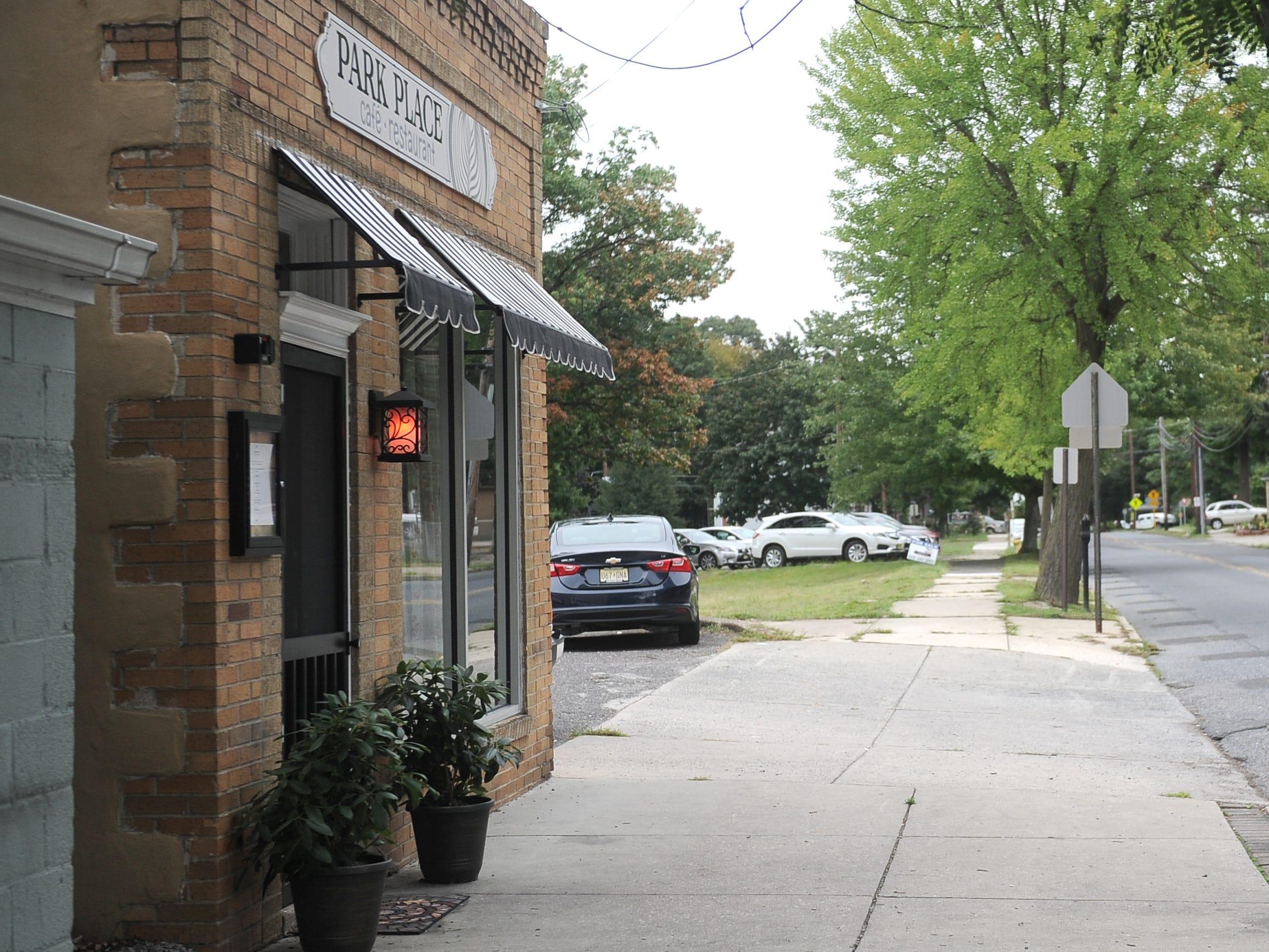 Proposed Merchantville redevelopment area.
