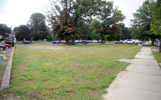 Proposed Merchantville redevelopment area.