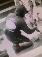 Mantua police are looking for a man who broke into a Heritage's store in Sewell and stole cigarettes on Sept. 3.