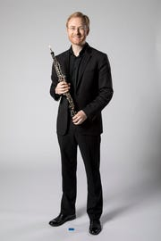 Dwight Parry, oboe player.