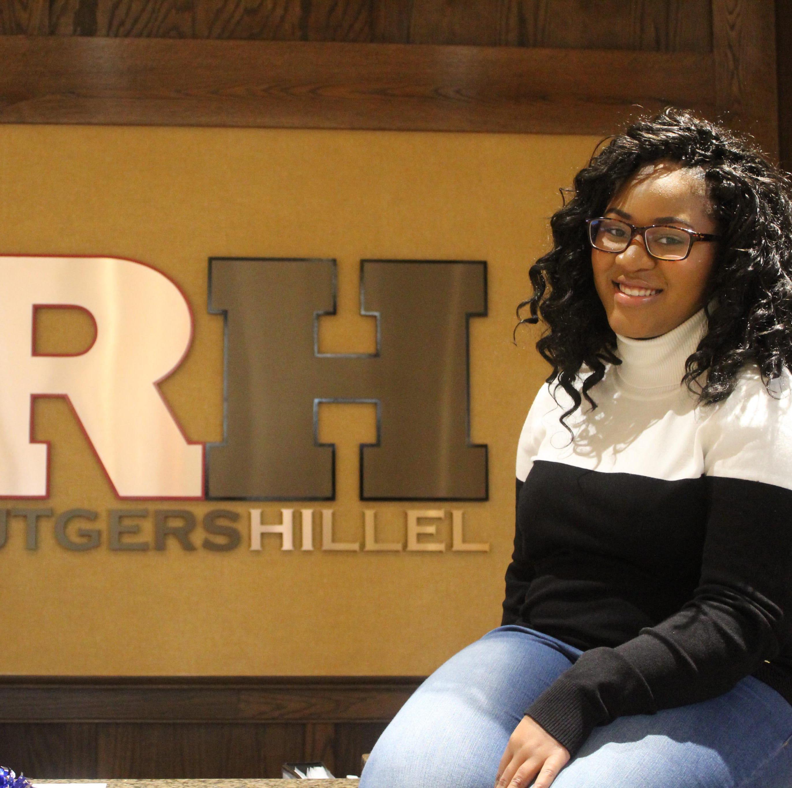 Black and Jewish, Fedline Saintina finds a home at Rutgers Hillel