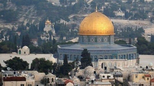 'Jerusalem: Holy — and Wholly Complex — City' PHOTO CAPTION