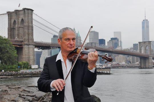 International concert violinist Dr. David Podles.