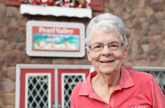 Grace Stalder has worked at Pearl Valley Cheese in Fresno for 60 years.