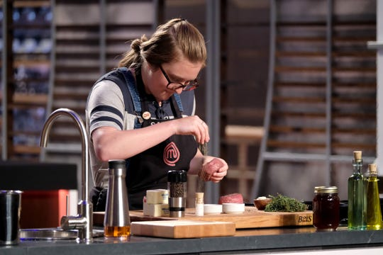 "Samantha Daily, a college student from West Des Moines, was eliminated from ""MasterChef"" but plans on attending culinary school."