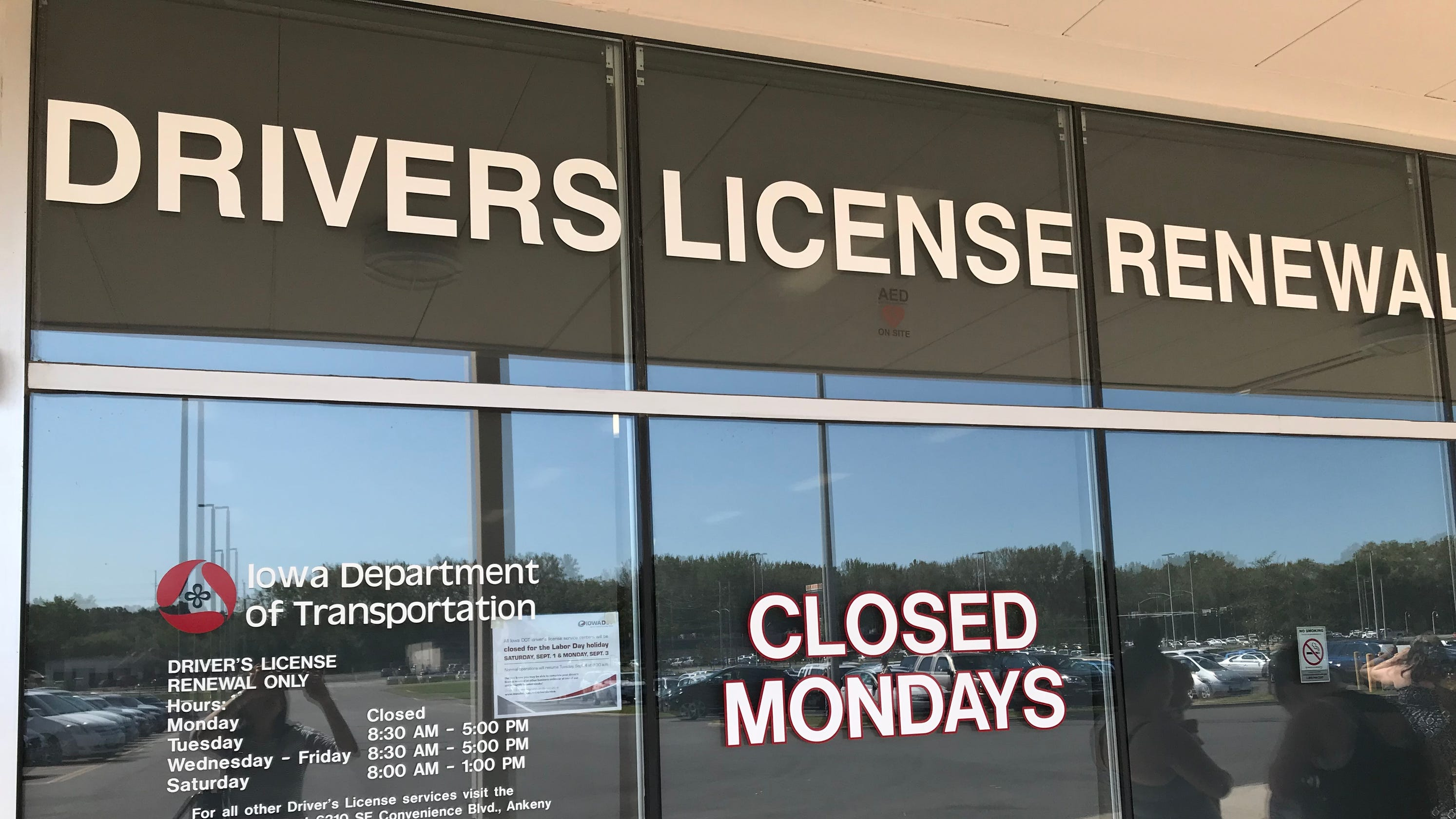 can i renew my iowa drivers license online