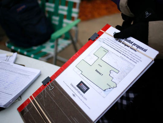 The campaign called Voters Not Politicians seeks to put a state constitutional amendment on the 2018 ballot to end gerrymandering.