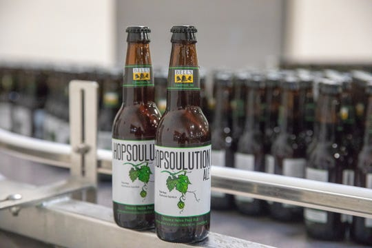 Hopsoulution on the bottling line 2018