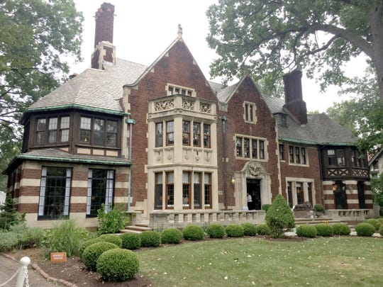 The Junior League of Detroit had a preview on Thursday, Sept. 13, 2018 of the Charles T. Fisher Mansion in Detroit for its 22nd Designers' Show House. The 16,000 square-foot home was originally owned by Charles and Sarah Fisher, who moved into it in 1922. It is now owned by TV actor Hill Harper.
