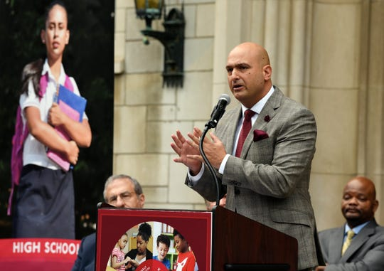 Dr. Nikolai P. Vitti, superintendent of the Detroit Public Schools Community District, said DPSCD and UM are working on an agreement to have student teachers in the program commit to three years or more of teaching at a DPSCD school after graduation.