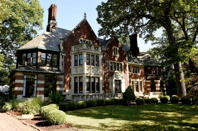 The 18,000-square-foot Charles T. Fisher Mansion is the largest home in Detroit's Boston-Edison District. After a dramatic transformation, it'll open for tours Saturday as the Junior League of Detroit's Designers' Show House.