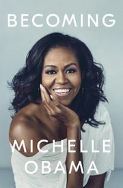 "Michelle Obama's ""Becoming"" comes out Nov. 13."