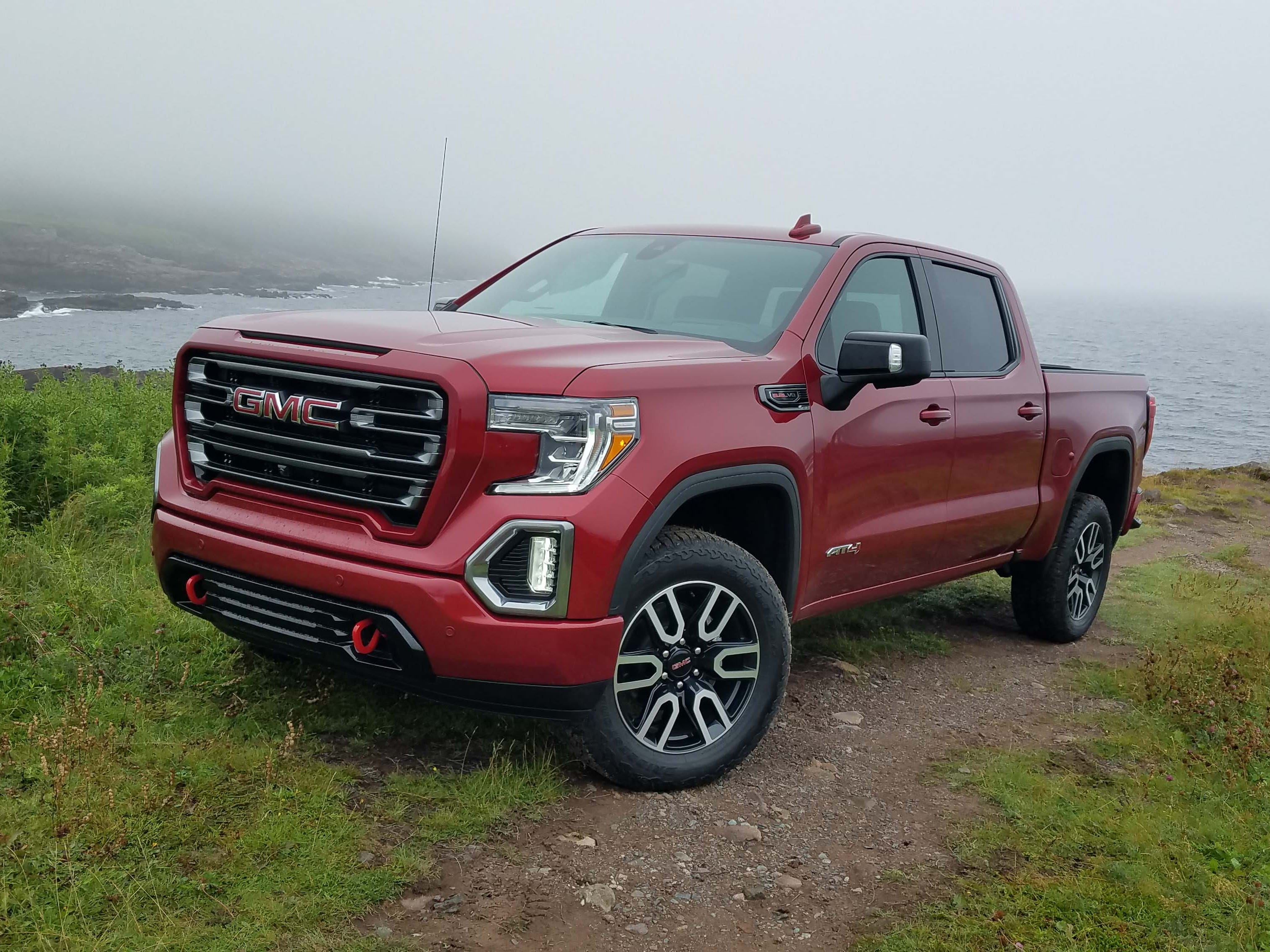 New for 2019 the GMC Sierra gets yet another top-trim badge - the AT4. The off-road trim gives Denali luxury but with a rugged edge for outdoorsy buyers.