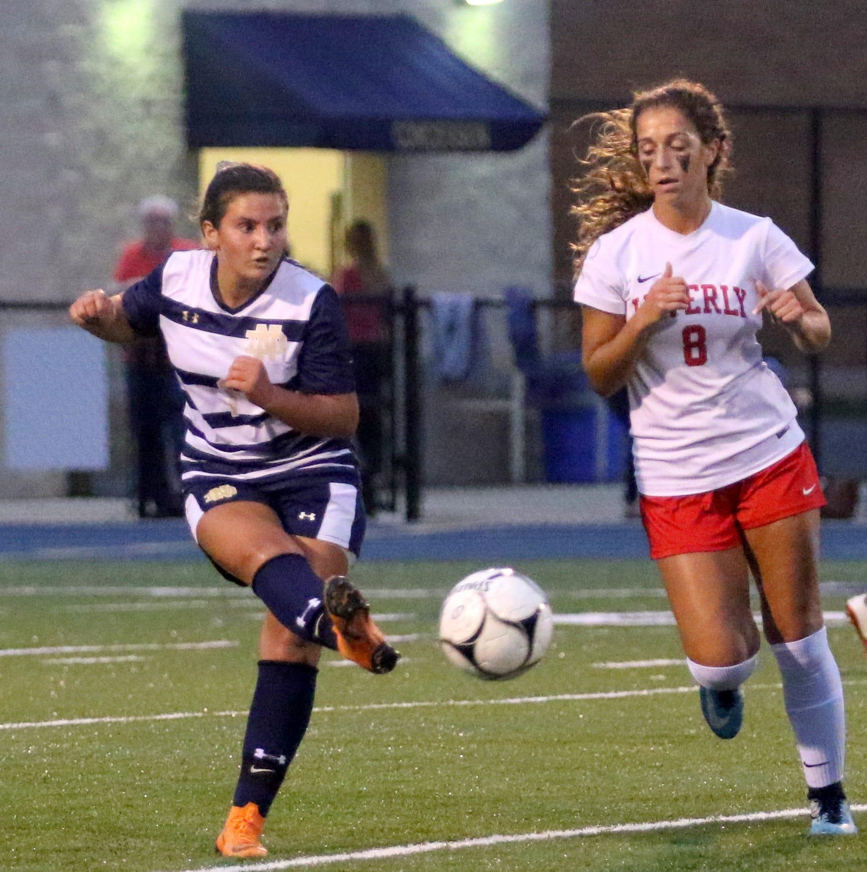 Gallery: Waverly at Elmira Notre Dame girls soccer