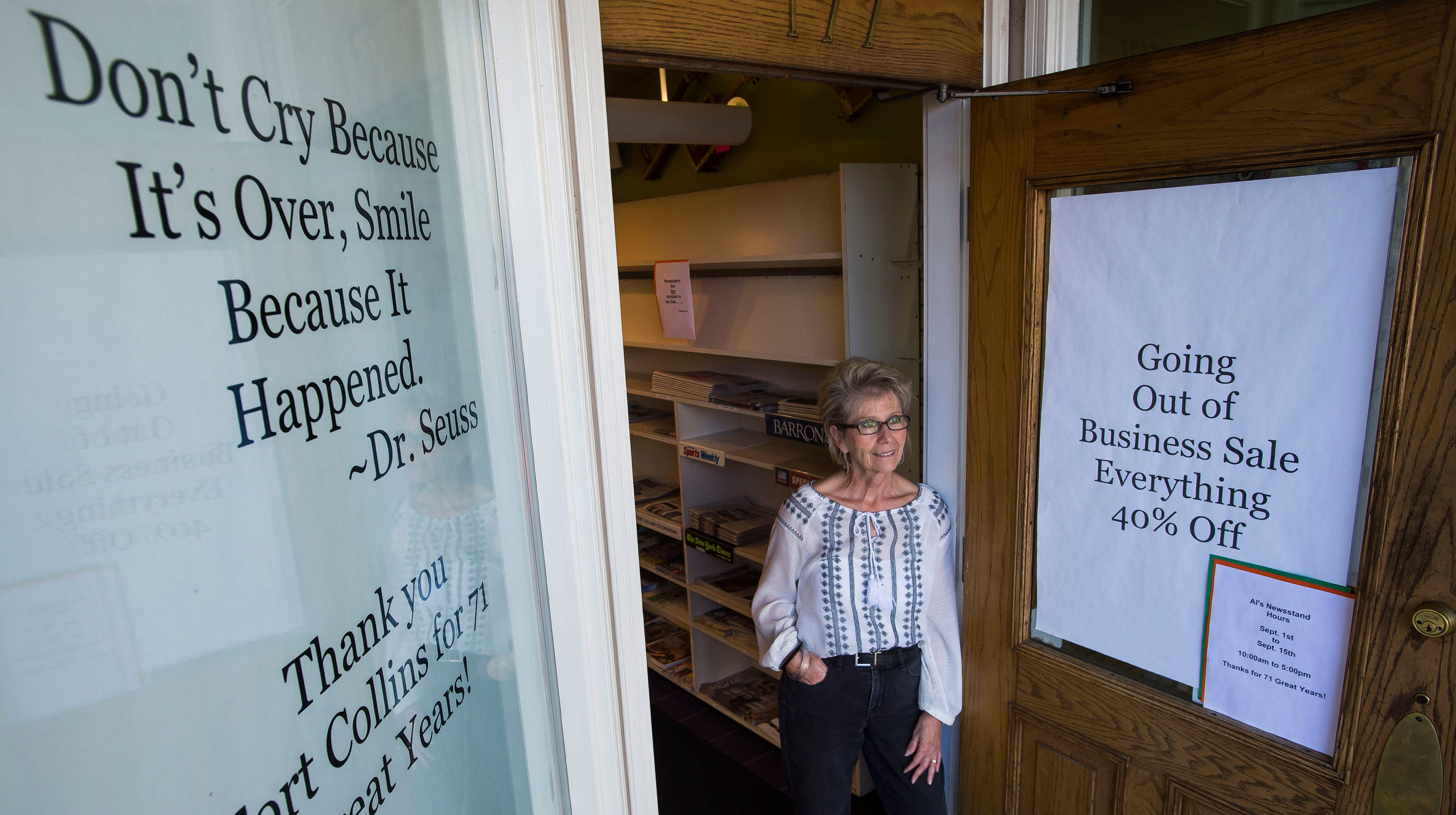 Customers say goodbye to Al's Newsstand, Old Town's beloved window into the past
