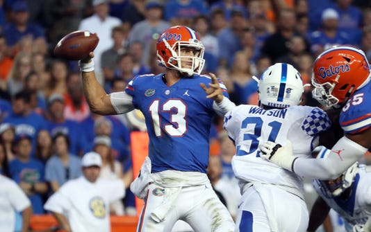Ncaa Football Kentucky At Florida