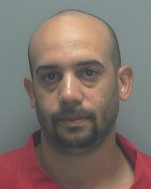Edgar Vazquez, 33, was arrested Thursday on charges of trafficking cocaine and possession of marijuana over 20 grams.