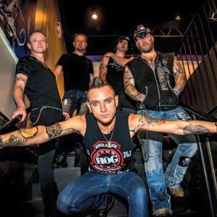 Rock band Saving Abel is scheduled to perform at Wildfire Trails just east of Gillett on Sept. 28.