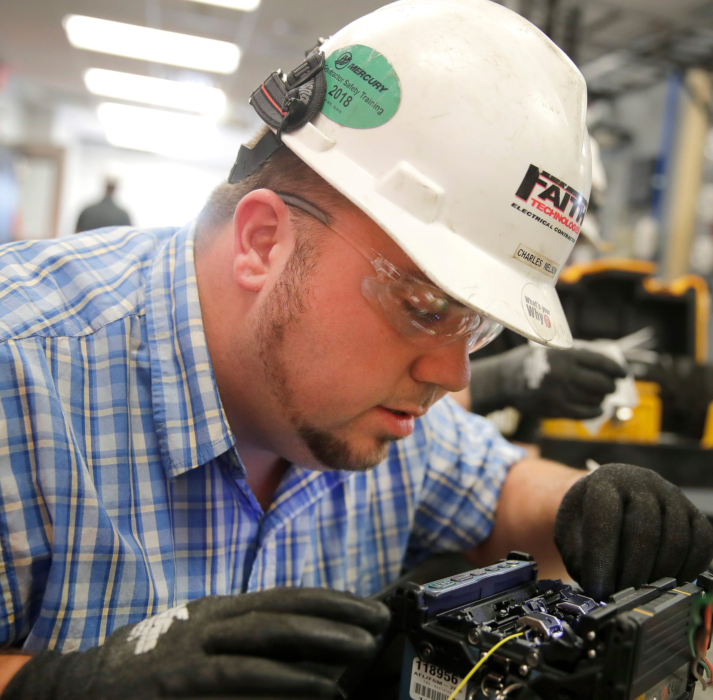 Apprenticeship: At Faith Technologies, Manitowoc man gets hands-on learning while working