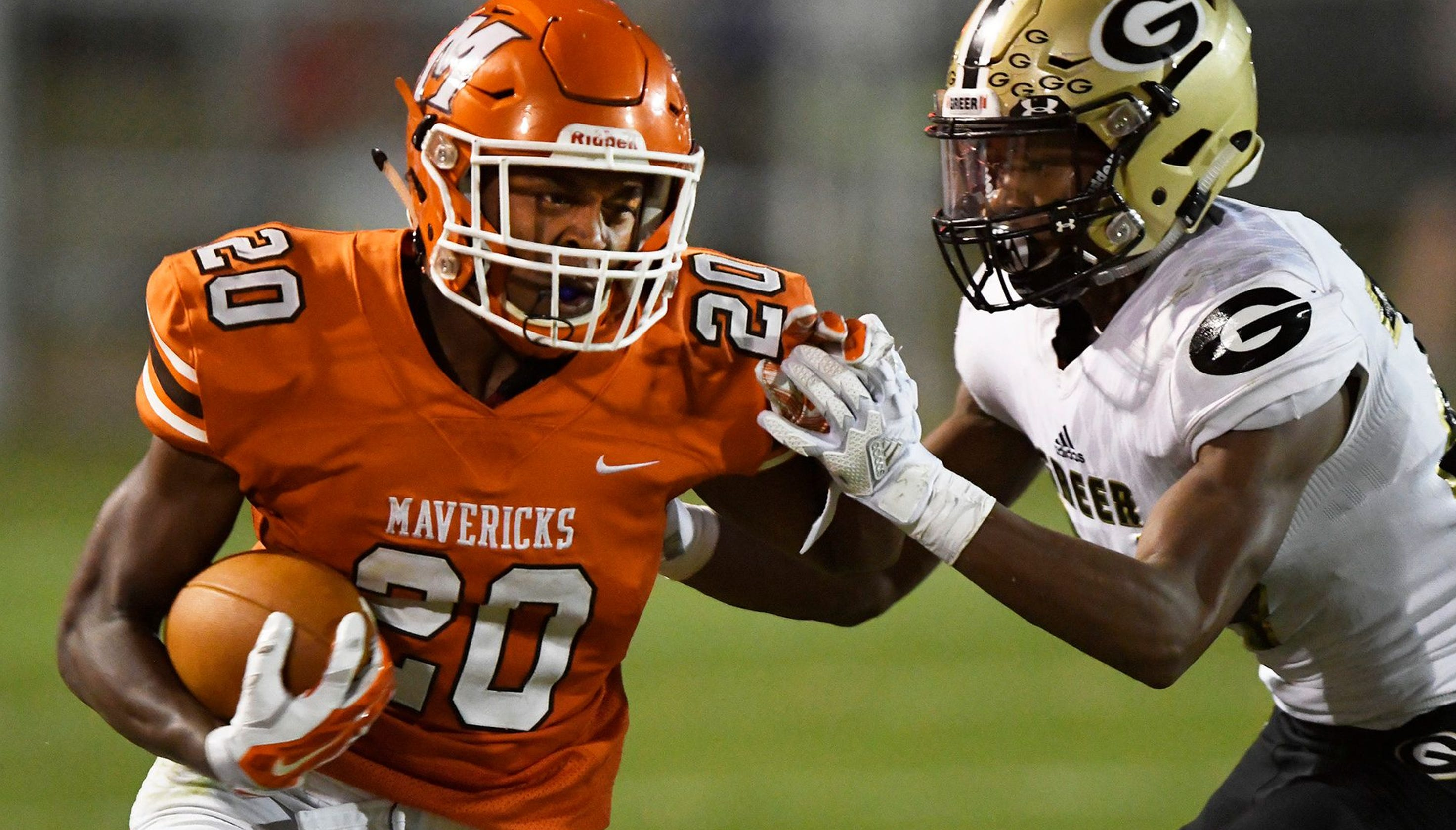 Greenville area high school football scores from Week 4