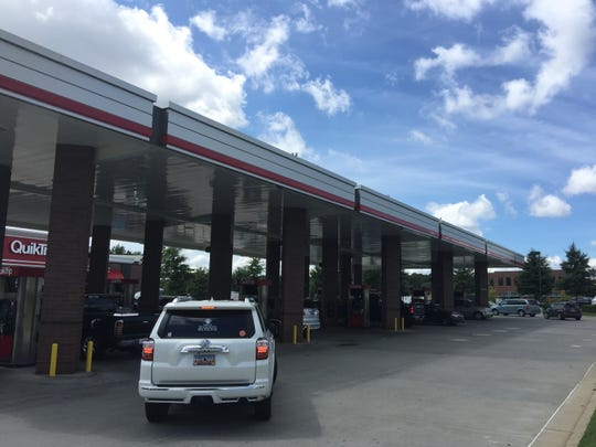 Drivers fuel up on gas at the QuikTrip on Woodruff Road in Greenville on Thursday, September 13, 2018. The pumps were busy, with a short queue.