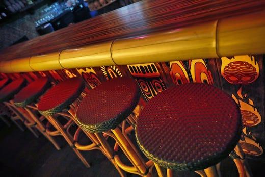 Fountain Square Restaurants Inferno Room Tiki Bar Is Like