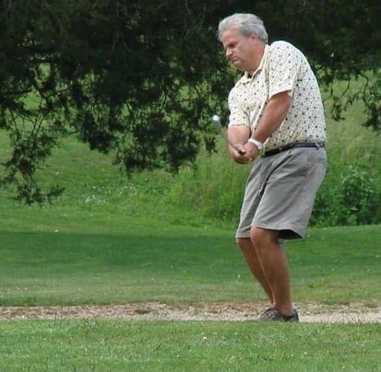 Lowell Hutslar, an electrical engineer from New Palestine, has made two holes-in-one.