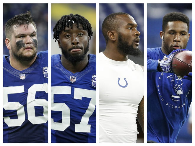 The Colts started more rookies (5) than in any season opener in their 35-year Indianapolis era.