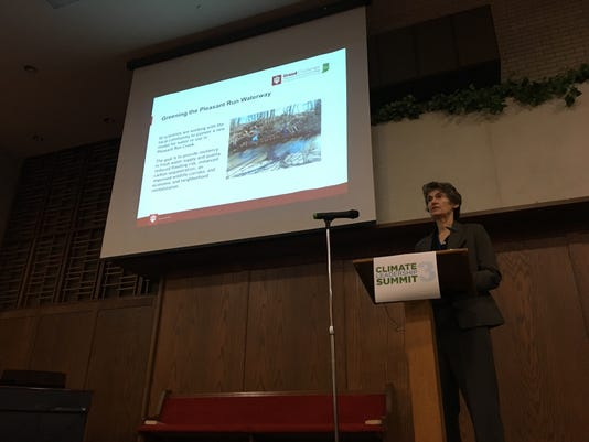 Janet McCabe Climate Summit