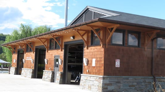 Ithaca College Ward Romer Boathouse