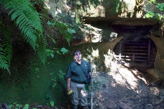 Kathy Shelton cave gate