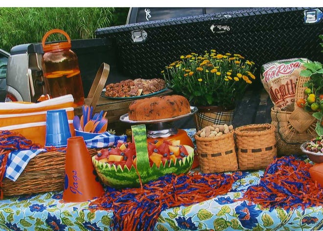 Tailgating has gone beyond just hamburgers, hot dogs, ribs and chicken to an event filled with style and culinary delights.