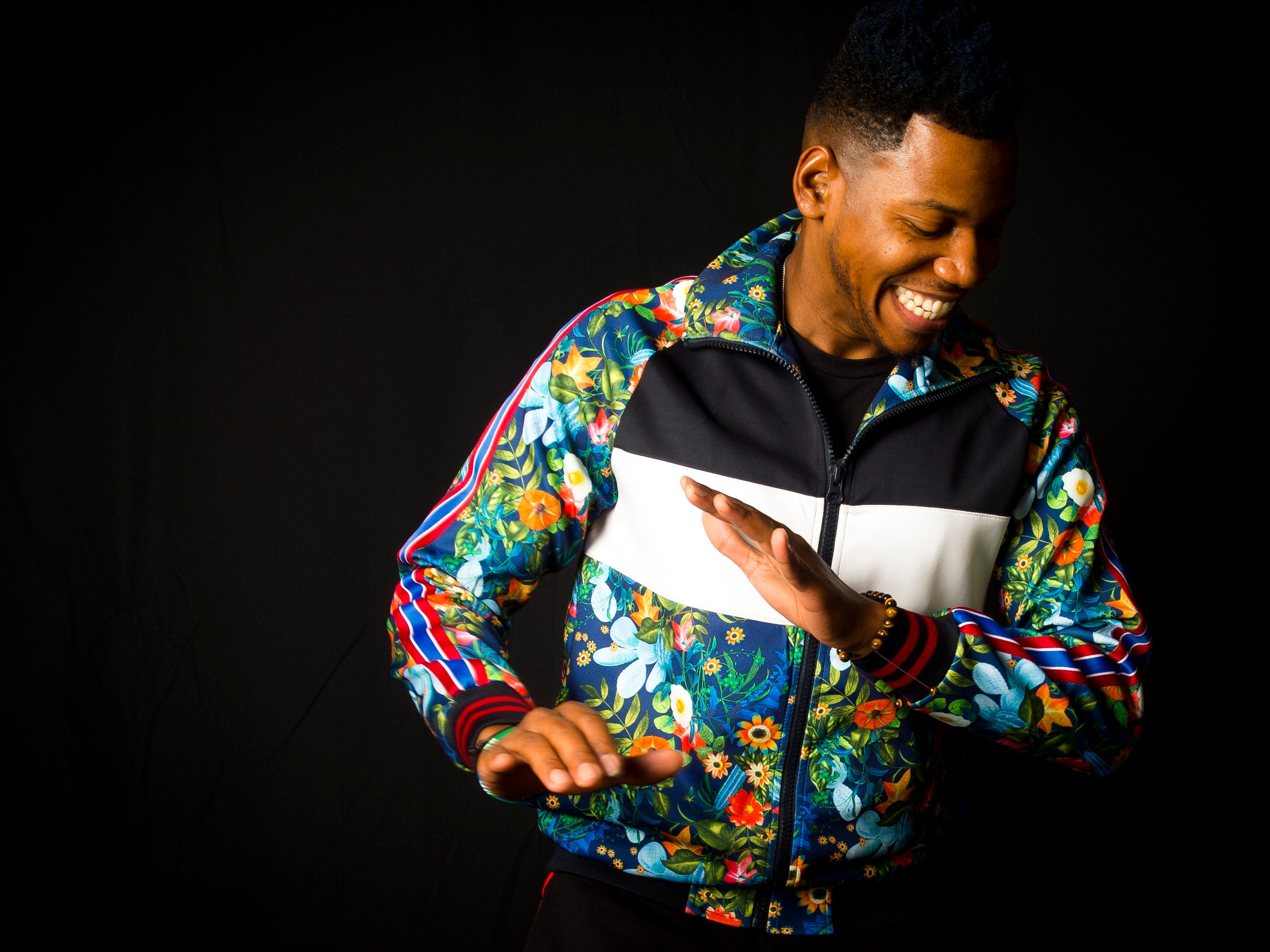 Chris Blue, photographed in the News Sentinel photo studio on Thursday, August 23, 2018, will perform at the Tennessee Valley Fair on Saturday, September 8, 2018.