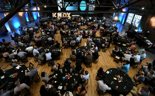 Ben Epperson keynote speaker at the 2018 Endeavor Summit at The Mill and Mine on West Depot Ave. Thursday, September 13, 2018.