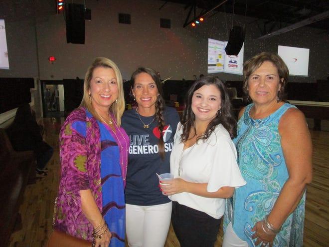 Lexi Baldridge, Karen Juneau, Ali Baldridge and Pam Arceneaux