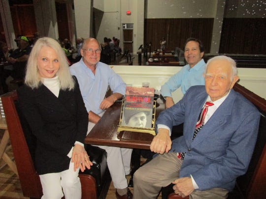 Barbara and Tim Ann O'Connor, Stanley Blackstone and George Schneider