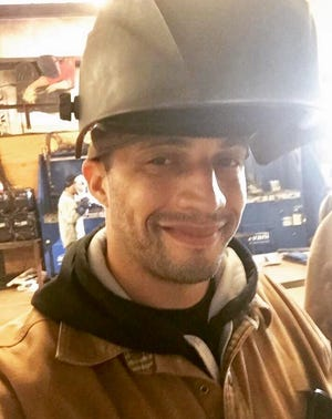 Jeremy Gray, 36, is pursuing a certification in welding at Central Louisiana Technical Community College.