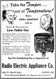 This ad ran in the Aug. 3, 1950 Lancaster Eagle-Gazette.