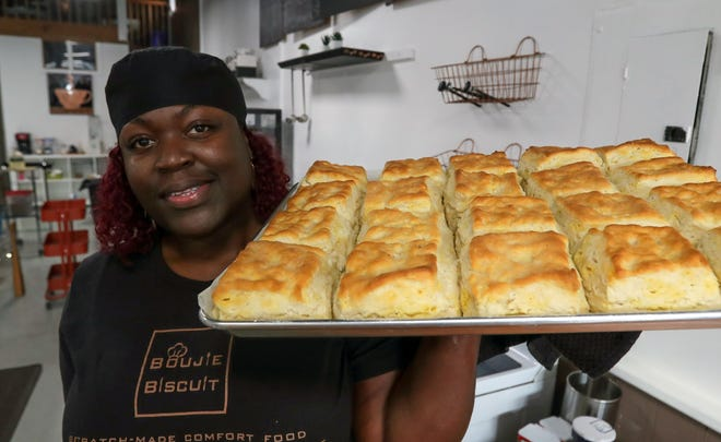 Cyndi Joyner is the owner of Boujie Biscuit on Frankfort Ave.   Sept. 12, 2018