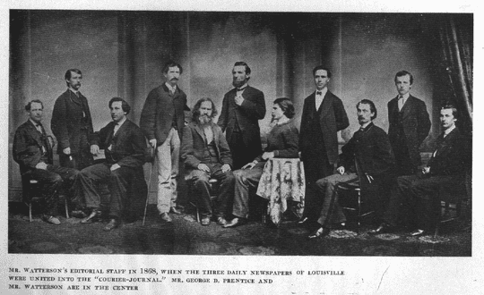 Courier Journal staff, 1868