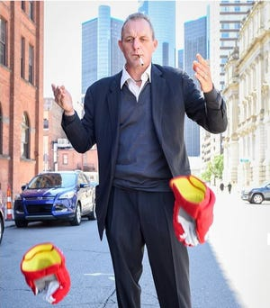 Darren McCarty, 46, is a popular former Detroit Red Wings player who now goes on tour with his own comedy troupe. A show in downtown Lansing is scheduled for Oct. 18.