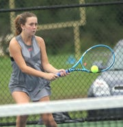 Lexington's Katie Volz is part of a battle-tested senior class.