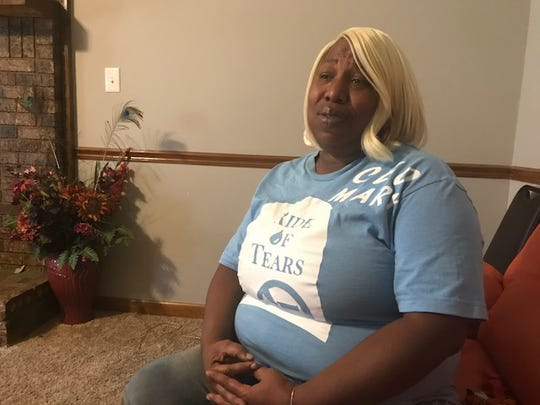 Mary Trice, head of the anti-violence organization, Ride of Tears, talks about her niece, Choosey Parker, who died last April after being shot outside of Purple Haze nightclub. Nine people were recently shot in that club - two critically.