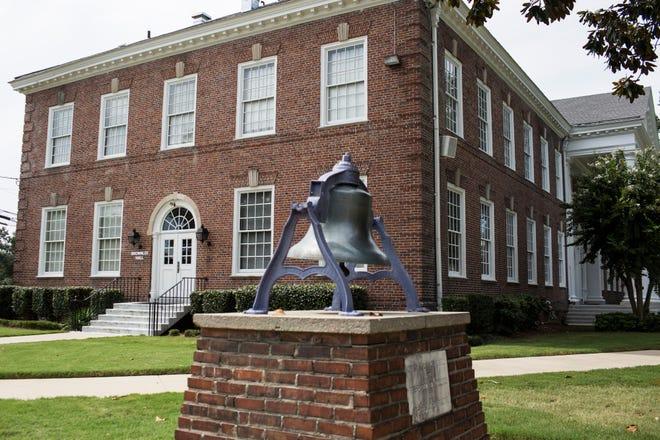 September 13 2018 - Brownlee Hall is seen on the Lemoyne-Owen College campus.